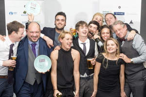 The Bristol Food Awards Celebration Dinner (13 Nov 2016). - Winner of Best Newcomer, Pinkmans.