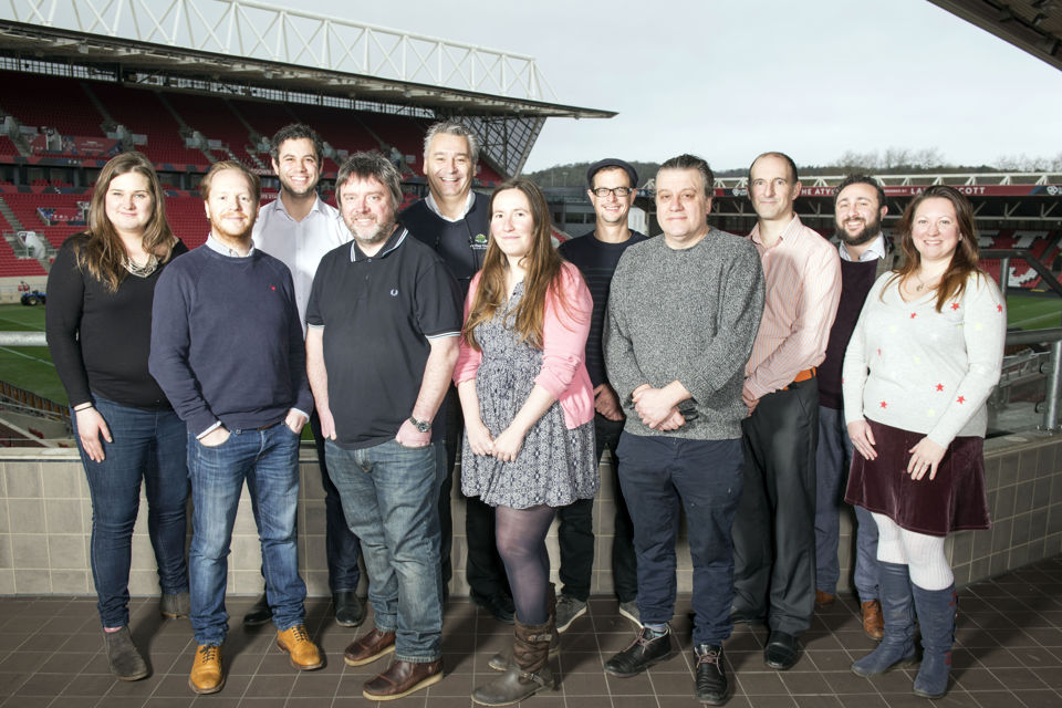 The Bristol Good Food Awards 2018 – the judges gather at the Ashton Gate Stadium for the judging day